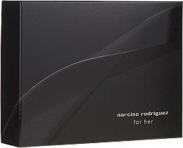 Düfte, Parfümerie und Kosmetik Narciso Rodriguez For Her - Duftset (Eau de Parfum 50ml + Duschgel 50ml + Körperlotion 50ml)