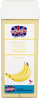 "Enthaarungswachs ""Banane"" - Ronney Wax Cartridge Banana — Bild N1"