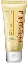 Düfte, Parfümerie und Kosmetik Peel-Off Gesichtsmaske mit Gold und Kollagen - Purederm Luxury Therapy Gold Peel-Off Mask