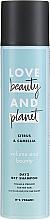 Düfte, Parfümerie und Kosmetik Trockenshampoo für feines Haar mit Zitrusfrüchten und Kamelien - Love Beauty And Planet Citrus & Camellia Dry Shampoo