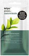 Düfte, Parfümerie und Kosmetik Mattierende Gesichtsmaske - Tolpa Green Mask
