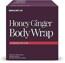 Düfte, Parfümerie und Kosmetik Anticellulite Körperbehandlung mit Honig und Ingwer - Natura Siberica Fresh Spa Kam-Chat-Ka Honey Ginger Body Wrap