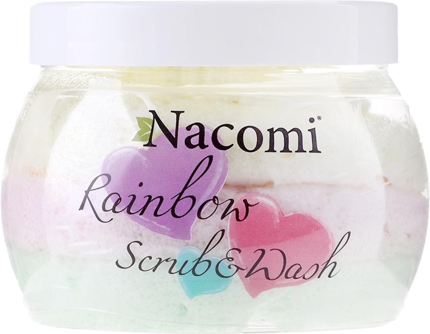 Körperpeeling Wassermelone - Nacomi Rainbow Scrub & Wash — Bild N1