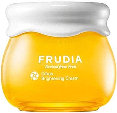 Aufhellende Gesichtscreme mit Mandarinenschalenextrakt und Vitamin C - Frudia Brightening Citrus Cream — Bild N1