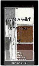 Düfte, Parfümerie und Kosmetik Augenbrauenset - Wet N Wild Ultimate Brow Kit