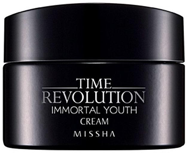 Verjüngende und vitalisierende Anti-Aging Gesichtscreme - Missha Time Revolution Immortal Youth Cream — Bild N1