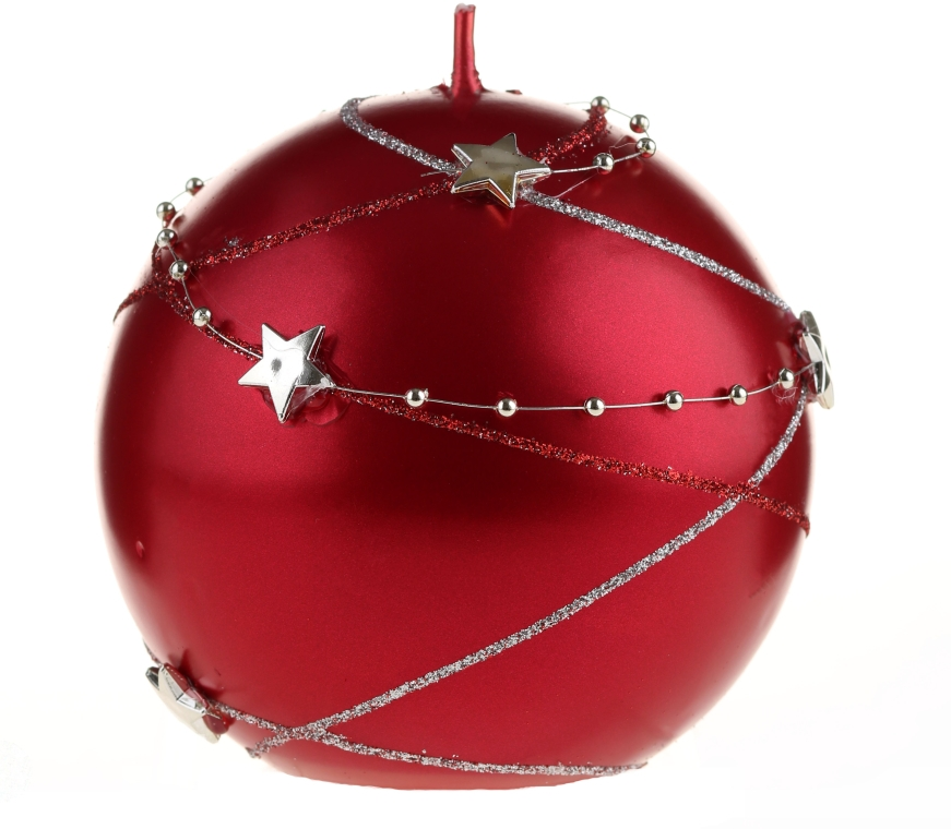 Dekorative Kerze Garland, rot - Artman Christmas Candle Garland Ø10cm — Bild N1