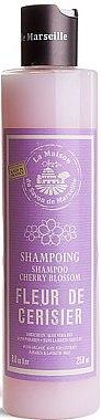 Shampoo mit Kirschblüten - La Maison du Savon de Marseille Shampoo Cherry Blossom — Bild N1