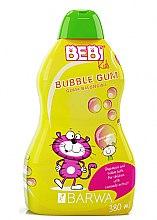 """Düfte, Parfümerie und Kosmetik 2-in-1 Baby Shampoo und Schaumbad """"Kaugummi"""" - Barwa Bebi Kids Shampoo And Bubble Bath"""