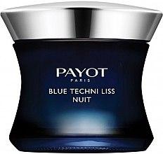 Düfte, Parfümerie und Kosmetik Regenerierende Anti-Aging Nachtcreme mit blauem Mönchspfeffer und Andornextrakt - Payot Blue Techni Liss Nuit