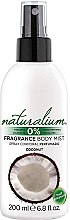 Düfte, Parfümerie und Kosmetik Körpernebel mit Kokosduft - Naturalium Body Mist Coconut