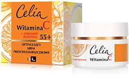 Düfte, Parfümerie und Kosmetik Anti-Falten Liftingcreme für das Gesicht mit Vitamin C und pflanzlichen Ceramiden 55+ - Celia Witamina C
