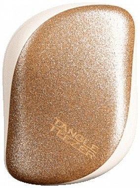 Kompakte Haarbürste - Tangle Teezer Compact Styler Glitter Gold — Bild N1