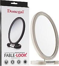 Kosmetikspiegel mit Ständer weiß 9503 - Donegal Mirror — Bild N1