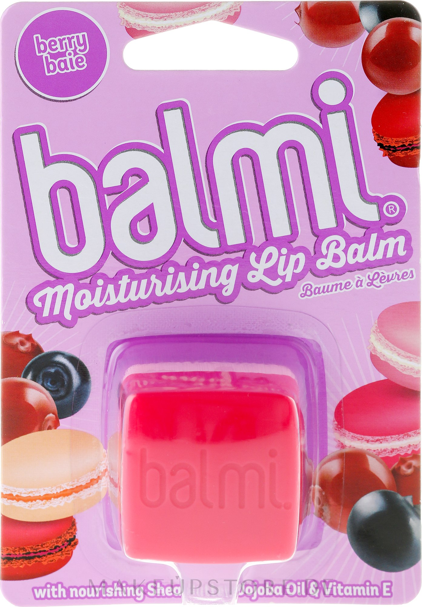 Lippenbalsam - Balmi Berry Lip Balm — Bild 7 g