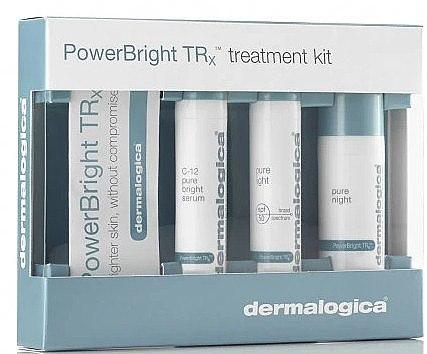 Gesichtspflegeset - Dermalogica Power Bright Trx Kit (Gesichtsserum 10 ml + Creme 10 ml + Creme 10 ml) — Bild N1