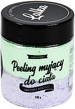 Düfte, Parfümerie und Kosmetik Reinigendes Körperpeeling mit Kokos- und Ananasduft - Lalka