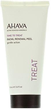 Sanftes regenerierendes Gesichtspeeling-Gel für einen strahlenden Teint - Ahava Time to Treat Facial Renewal Peel  — Bild N1