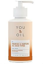 Düfte, Parfümerie und Kosmetik Nährendes und feuchtigkeitsspendendes Gesichtsreinigungsöl - You & Oil Nourish & Nurture Face Wash