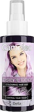 Tönung Haarspray violett - Delia Cameleo Instant Color — Bild N1