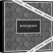Düfte, Parfümerie und Kosmetik Boucheron Quatre Boucheron Pour Homme - Duftset (Eau de Toilette 100ml + After Shave Balsam 100ml + Duschgel 100ml)