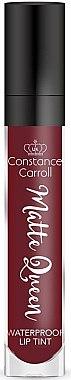 Flüssiger matter Lippenstift - Constance Carroll Lip Tint Matte Queen — Bild N1