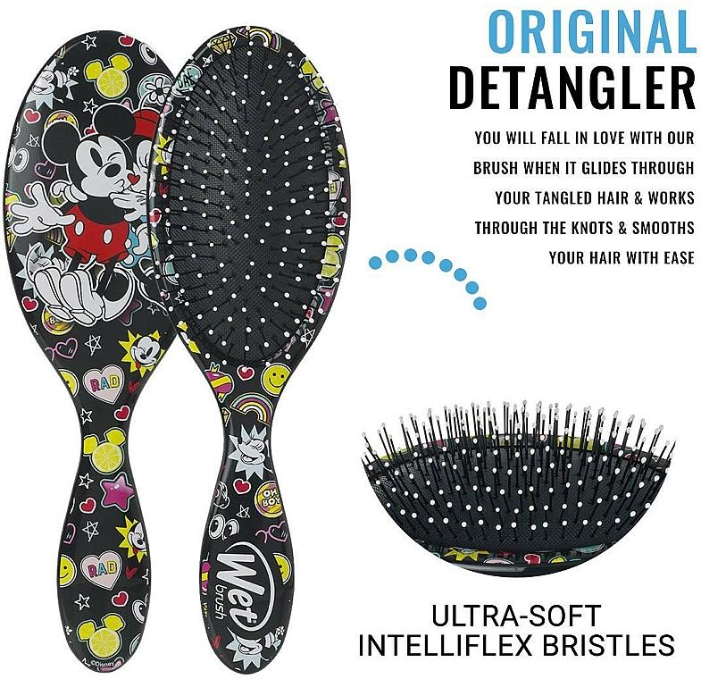 Haarbürste - Wet Brush Original Detangler Disney Classics Super Cool — Bild N3