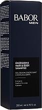 Düfte, Parfümerie und Kosmetik Vitalisierendes Duschgel für Körper und Haare - Babor Men Energizing Hair & Body Shampoo
