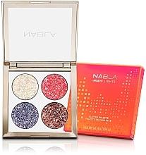 Düfte, Parfümerie und Kosmetik Lidschattenpalette mit schimmerndem Effekt - Nabla Miami Lights Collection Glitter Palette