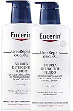 Düfte, Parfümerie und Kosmetik Körperpflegeset - Eucerin UreaRepair Original Washfluid 5% (Reinigungsfluid für Körper und Gesicht 2x400ml)