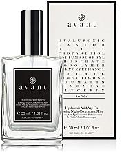Düfte, Parfümerie und Kosmetik Tonisierendes Gesichtsspray für die Nacht mit Hyaluronsäure - Avant Hyaluronic Acid Age Fix Toning Night Concentrate Mist