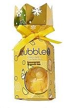 Düfte, Parfümerie und Kosmetik Badeset Zitronengras & Grüner Tee - Bubble T Bath Fizzy Lemongrass Green Tea (Badebombe 100g + Badekonfetti 25g)