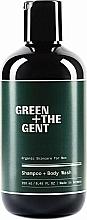 Düfte, Parfümerie und Kosmetik 2in1 Shampoo und Duschgel für Männer - Green + The Gent Shampoo + Body Wash