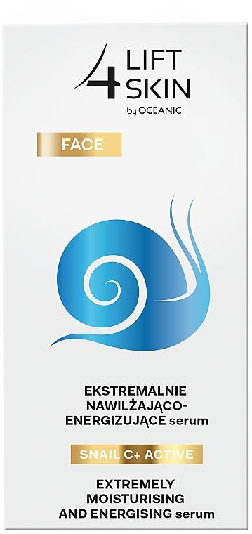 Intensiv feuchtigkeitsspendendes und glättendes Gesichtsserum - Lift4Skin Snail C+ Serum