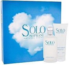 Düfte, Parfümerie und Kosmetik Luciano Soprani Solo Soprani - Duftset (Eau de Toilette 100ml + Duschgel 100ml)