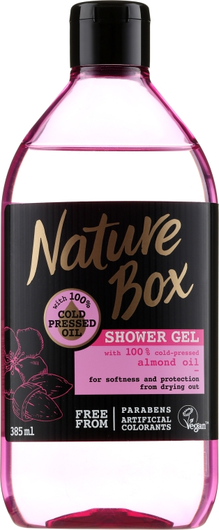 Duschgel - Nature Box Almond Oil Shower Gel