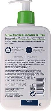 Reinigungs Creme-Gel für Gesicht und Körper mit 3 essentiellen Ceramiden - CeraVe Hydrating Cleanser — Bild N5