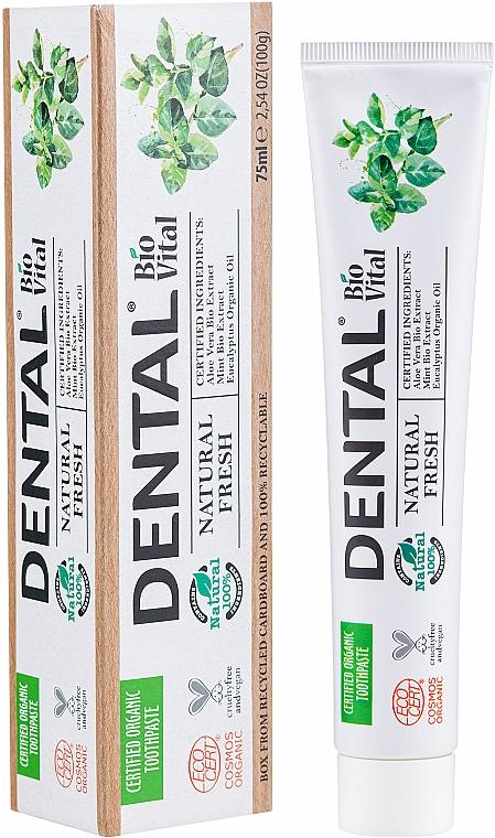 Zahnpasta mit Minzeextrakt - Dental Bio Vital Natural Fresh Toothpaste — Bild N2