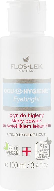 Hygienisches Augenfluid mit Kräuterextrakt - Floslek Eyebright Eyelid Hygiene Liquid — Bild N2