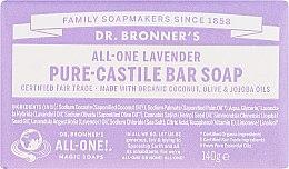 Düfte, Parfümerie und Kosmetik Seife Lavendel - Dr. Bronner's Pure Castile Bar Soap Lavender