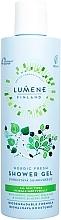 Düfte, Parfümerie und Kosmetik Erfrischendes und feuchtigkeitsspendendes Duschgel für alle Hauttypen - Lumene Nordic Fresh Shower Gel
