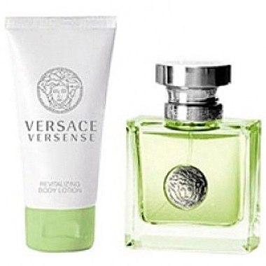 Versace Versense - Duftset (Eau de Toilette 30ml + Körperlotion 50ml) — Bild N1