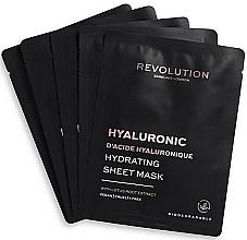 Düfte, Parfümerie und Kosmetik Feuchtigkeitsspendende Tuchmasken für das Gesicht mit Lotuswurzelextrakt - Revolution Skincare Hyaluronic Hydrating Acid Sheet Mask