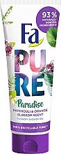Düfte, Parfümerie und Kosmetik Duschgel mit Patchouli- und Orangenblütenduft - Fa Pure Paradise Shower Gel Patchouli & Orange