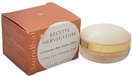 Düfte, Parfümerie und Kosmetik Augenkonturcreme - Stendhal Recette Merveilleuse Ultra Eye Contour Gel