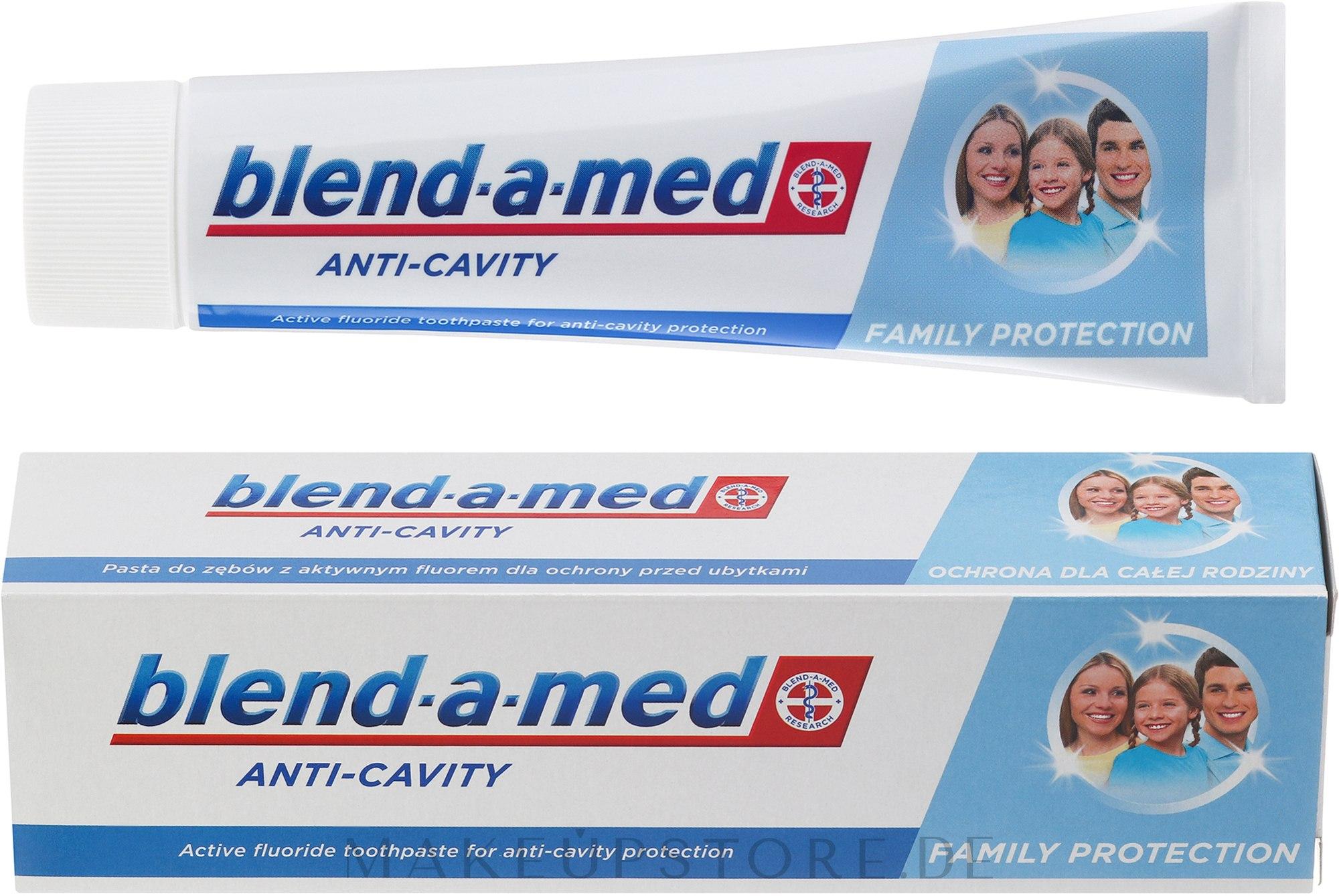 Zahnpasta Anti-Cavity Family Protection - Blend-a-med Anti-Cavity Family Protect Toothpaste — Bild 100 ml