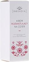 Düfte, Parfümerie und Kosmetik Aufhellende Tagescreme mit Damastrosenöl - Rosadia