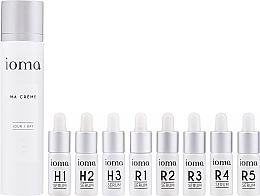 Düfte, Parfümerie und Kosmetik Gesichtspflegeset - Ioma Ma Creme Set Day Base (Gesichtscreme 40ml + Gesichtsserum 8x5ml)