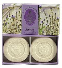 """Düfte, Parfümerie und Kosmetik Seifen-Set """"Lavendel"""" 2 St. - La Florentina Lavender Bath Soap Set"""