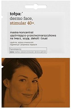 Stimulierende Gesichtsmaske - Tolpa Dermo Face Stimular 40+ Mask — Bild N1
